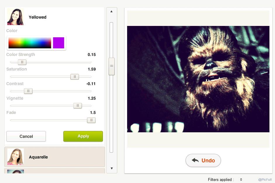 создание фотоэффектов онлайн