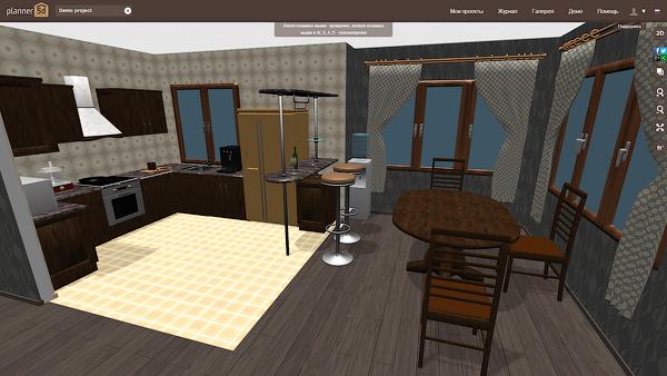 5 онлайн программ 3D-дизайна интерьера