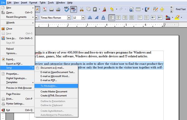 бесплатные аналоги Microsoft Office